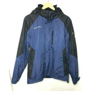 ZeroXposur Blue HOODED Small MEN'S Jacket